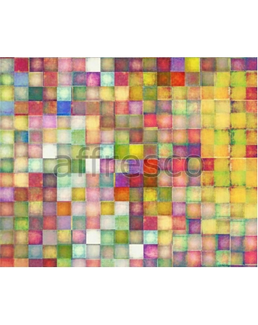 Фотообои, фреска Цветная мозаика, арт. ID135628