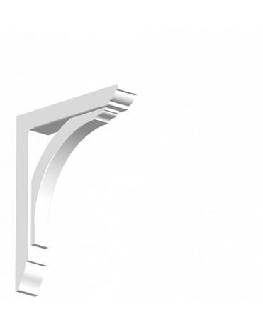 Арка малая из дюрополимера для фасадного декора GB02