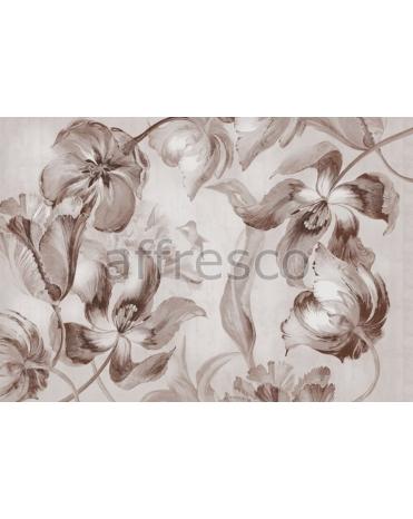 Фотообои, фреска Мотив с тюльпанами, арт. 7141