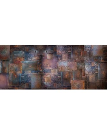 Фотообои, фреска Арт стена с заклепками, арт. ID135590