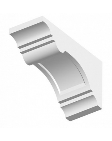 Кронштейн из полиуретана для фасадного декора TF05