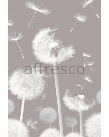 Фотообои, фреска Одуванчики на ветру, арт. 7235