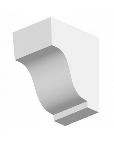 Кронштейн из дюрополимера для фасадного декора TF02