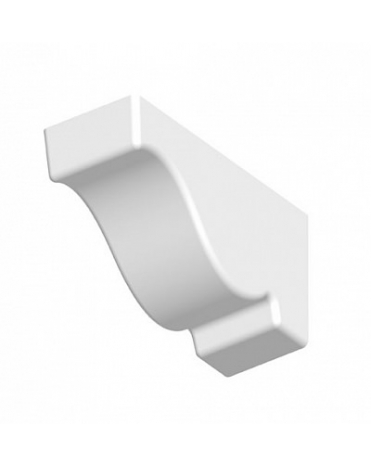 Кронштейн из полиуретана для фасадного декора TF03