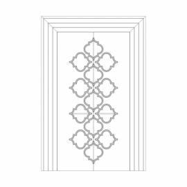 Оформление дверей RODECOR Рамбова 76422AR