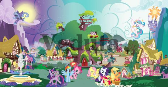 Фотообои, фреска My little pony, арт. 9667